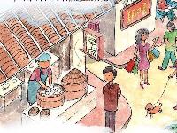 一秒钟中国会发生什么变化?这份水墨长卷带你领略大美中国