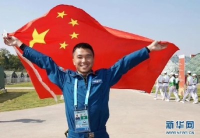 【快讯】中国代表团斩获武汉军运会第二金,我市廖伟华作为领航员获金