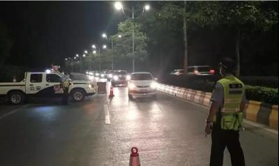浈江区多部门联合开展夜查行动  整治工程车辆超载遗撒行为