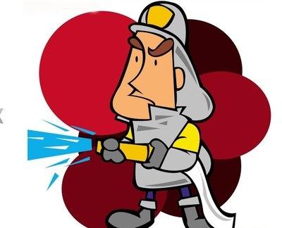 凌晨商铺起火  始兴消防紧急扑救