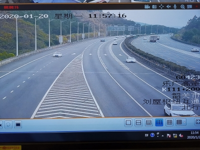 【第一发布】京珠北乐广高速车流回落