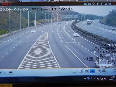 京珠北乐广高速车流量明显回落 预计春节后返程车流高峰从年初四开始出现