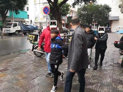 曲江警方破获10多宗沿街店铺盗窃案