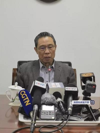 钟南山:新型冠状病毒能人传人,戴口罩预防很重要!国家卫健委发布1号公告