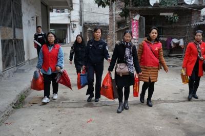 曲江开展吸毒人员家庭走访慰问活动