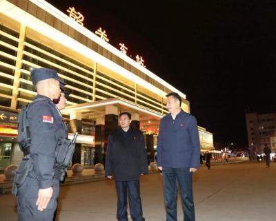 李红军检查全市春运工作 做好春运各项工作 确保群众顺畅回家