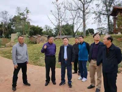 梅江区政协到始兴考察学习文化旅游产业带动乡村振兴工作