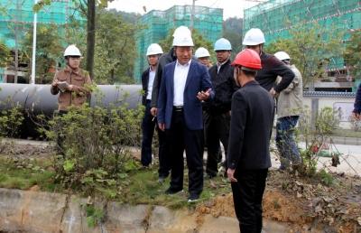 市领导调研南水水库供水工程进展情况 推进项目早建成百姓早受益